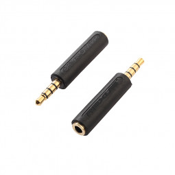 3.5mm Audio Male to Female Dual CTIA to OMTP Converter Adapter Connector for Phones
