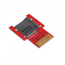 PSV 1000 2000 SD Micro Game Memory Card SD Adapter for PS Vita - Red