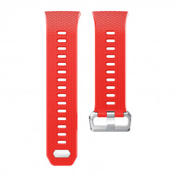 Fitbit 2 Replacement Silicone Wristband Sport Strap Watch Band Bracelet - Red