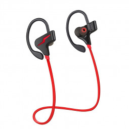 S30 Sports Bluetooth Stereo Headphones Wireless Running Headsets Earphones - Red