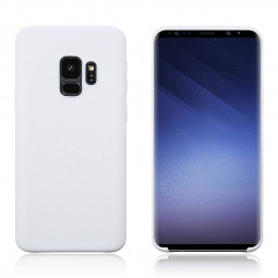 Samsung Galaxy S9 Ultra Slim Flexible Soft TPU Silicone Shockproof Case Back Cover - White