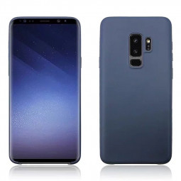 Ultra Slim Thin Soft Gel TPU Shockproof Case Back Cover Shell for Samsung Galaxy S9 Plus - Navy Blue