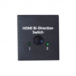 4K Bi-Direction HDMI Switch 2x1 1x2 AB 2 Ports Switcher Splitter Hub