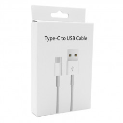 Type C to USB Charging Data Cable White Package Box(Box Only)