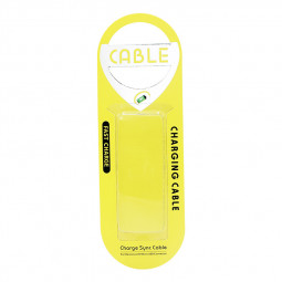 Slim Universal Charging Data Cable Blister Cardboard Retail Box