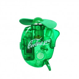 Mini Water Cooling Spray Fan Cool Air Fan Portable Handheld Gadget Sport - Green