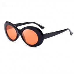 Retro Men Women Classic Sunglasses UV Protection Outdoor Sunglasses - Black + Red
