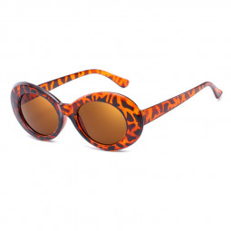 Retro Men Women Classic Sunglasses UV Protection Outdoor Sunglasses - Brown