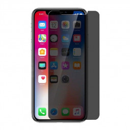 Privacy Screen Protector Super Clear 9H Hardness Tempered Glass Film for iPhone X/XS/11 Pro