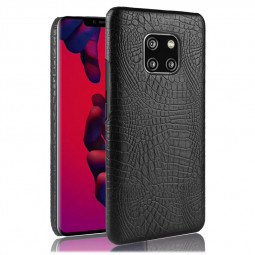 Slim Thin Crocodile Texture PC Hard Case Back Cover Shell for Huawei Mate 20 Pro - Black