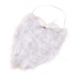 Santa Claus Costume Christmas White Beard Moustache Wig Clothing for Kid Adult