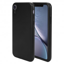 Ultra Slim Full Wrapped Protective PC Case Phone Cover for iPhone XR - Black