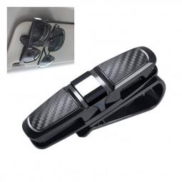 Car Glasses Clip Paper Clips Sunglasses Holder Card Ticket Clip - Grey