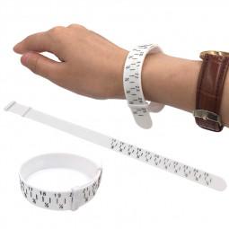 PU Wrist Measuring Tool Strap Bangle Jewelry Making Gauge Bracelet Sizer
