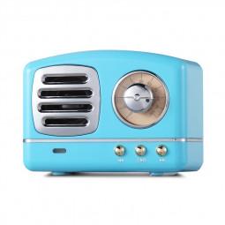 HM11 Retro Portable Nostalgic Radio Mini Bluetooth Speaker Creative Gift - Blue