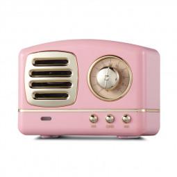 HM11 Retro Portable Nostalgic Radio Mini Bluetooth Speaker Creative Gift - Pink
