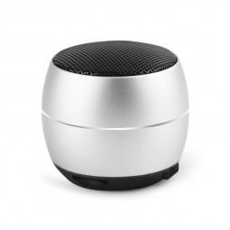 400 mAh Portable Metal Mini Wireless Bluetooth Speaker Hifi Sound Bluetooth 4.2 - Silver