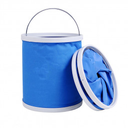 13L Bucket Foldable Bucket Car Washing Cleaning Bucket Portable Fishing Bucket Outdoor Collapsible Water Container
