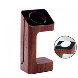 38mm Stand Holder Docking Station for Apple Watch - Wood