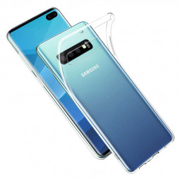 Ultra Thin Crystal Transparent Phone Back Case Soft TPU Phone Cover for Samsung Galaxy S10 Plus