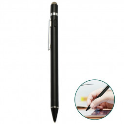 iPad Mobile Phone Stylus Pen High Precision and Sensitivity Point Capacitive Stylus with CE Certification - Black
