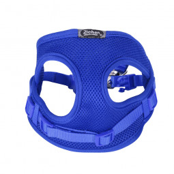 Soft Breathable Dog Leash Vest Harness Lead Set Fit for Small Medium Dogs Poodle - Blue