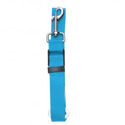 Pet Dog Car Sear Belt Lead Strap Safety Harness Leash Restraint Car Van Travel - Blue