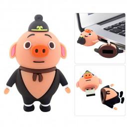 Pig Image of Drama Series Pilgrimage to the West USB 2.0 Flash Drive U Disk - 16GB
