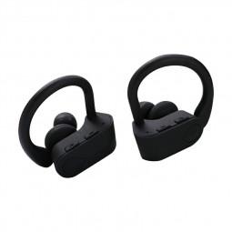 TWS-3 Bluetooth 5.0 Wireless Earphone Ear-hook Stereo Headset Hifi Sports Headphones for iPhone Android Phones - Black