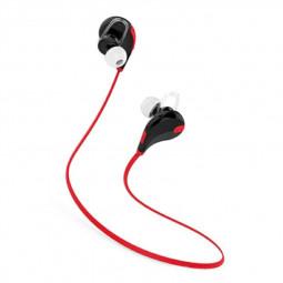 Bluetooth Wireless Headset Stereo Headphones Earphones Sport Universal Handfree - Red