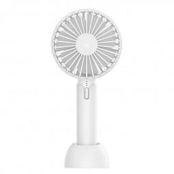 Summer Handheld Fan Portable Mini Fan USB Desktop Fan for Home Outdoor and Office - White