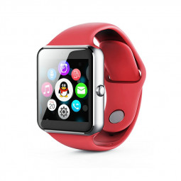 Q7SP Smart Watch Sport Bracelet Fitness Tracker IPS Calories Sleep Monitor Call Reminder Wrist Band - Red