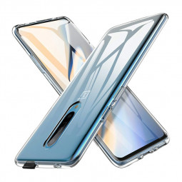 Ultra Thin Slim Transparent Phone Case Cover Shock Absorbtion Soft Case for Oneplus 7 Pro