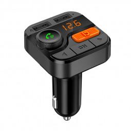 BT82D Car Bluetooth MP3 Music Player Dual USB Hands-free Call FM Transmitter