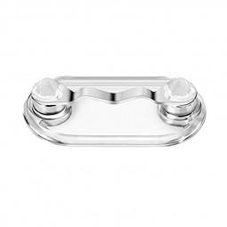 Magnetic Glasses Sunglasses Spectacles Clip Earphone Key Eyeglass Holder Clip - White Diamond