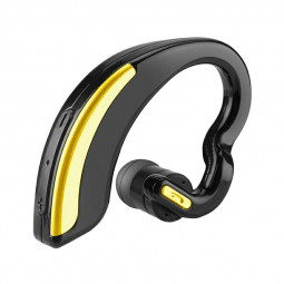V18 Universal Bluetooth Wireless Stereo Headset Sport Earphone Handfree Headphone - Gold