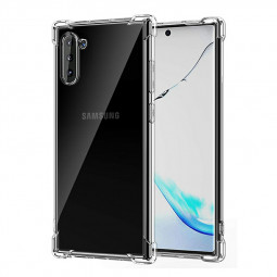 Soft TPU Silicone Skin Clear Case Protective Bumper Back Cover for Samsung Galaxy Note 10