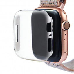 Apple Watch Clear Hard PC Case Cover Screen Protector for iWatch Series 4 - 40mm