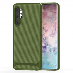 Soft Matte TPU Phone Case Slim Back Cover for Samsung Galaxy Note 10 Plus - Green