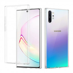 Soft TPU Clear Full Body Slim Phone Case Transparent Back Cover for Samsung Galaxy Note 10 Plus
