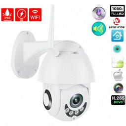 360 Degree Outdoor Waterproof 1080P WiFi Remote Monitor IP Network Surveillance Camera Wireless CCTV HD PTZ Security IR Cam