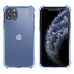 Soft Skin Silicone Protective TPU Phone Case Scratch Resistant Back Case for iPhone 11 Pro - Blue