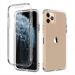 Soft and Transparent Phone Case Full Body Bumper Cover Slim TPU Phone Case for iPhone 11 Pro Max