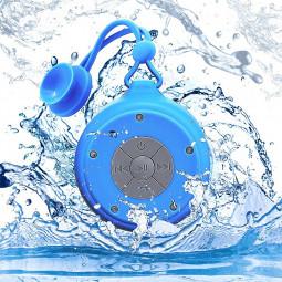 Q50 Portable Waterproof Wireless Bluetooth 4.2 Speaker USB Powered Anti-drop Bluetooth Speaker - Blue