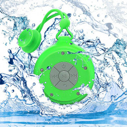 Q50 Portable Waterproof Wireless Bluetooth 4.2 Speaker USB Powered Anti-drop Bluetooth Speaker - Green