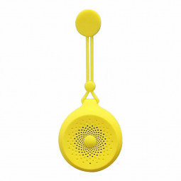 Q50 Portable Waterproof Wireless Bluetooth 4.2 Speaker USB Powered Anti-drop Bluetooth Speaker - Yellow