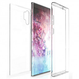 360 Degree Full Body Protective Phone Case Slim TPU Cover and Screen Protector for Samsung Note 10 Plus