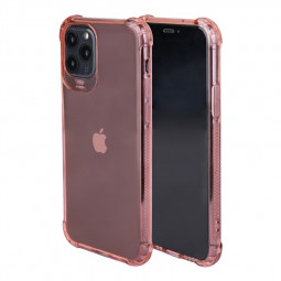 Ultra Slim Back Bumper Cover Soft TPU Rubber Fitted Skin Silicone Protective Case for iPhone 11 Pro - Pink