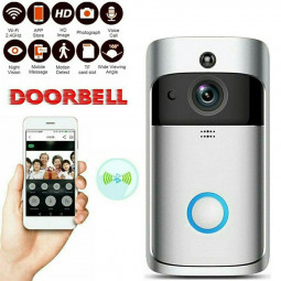 Smart Wireless Wifi Video Doorbell PIR Infrared WLAN Night Vision Wifi Ring Camera Doorbell Wireless Doorbell