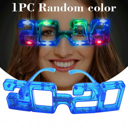 Electric Flashing LED Light Glasses Party Decor for Festival Wedding Christmas New Year